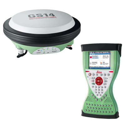 RTK-ровер Leica GS14 GSM+UHF, Rover CS15