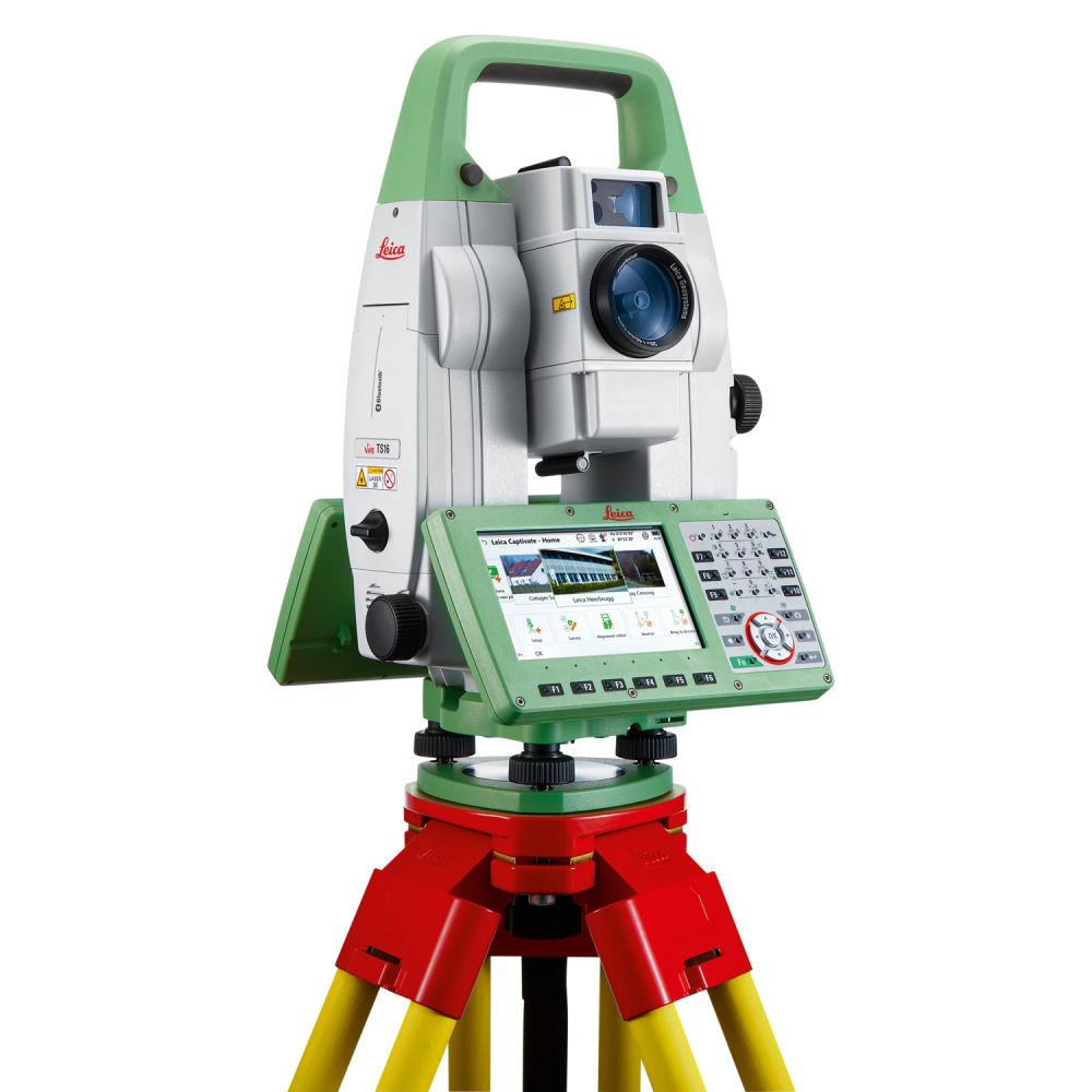 "Роботизированный тахеометр Leica TS16 A R500 5"" WorldSkills без ПО"