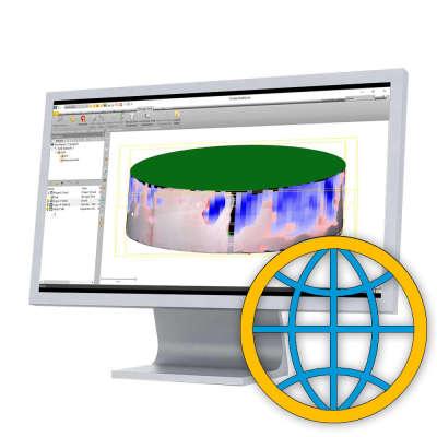 Программное обеспечение Trimble RealWorks Advanced-TANK (1 ПК)