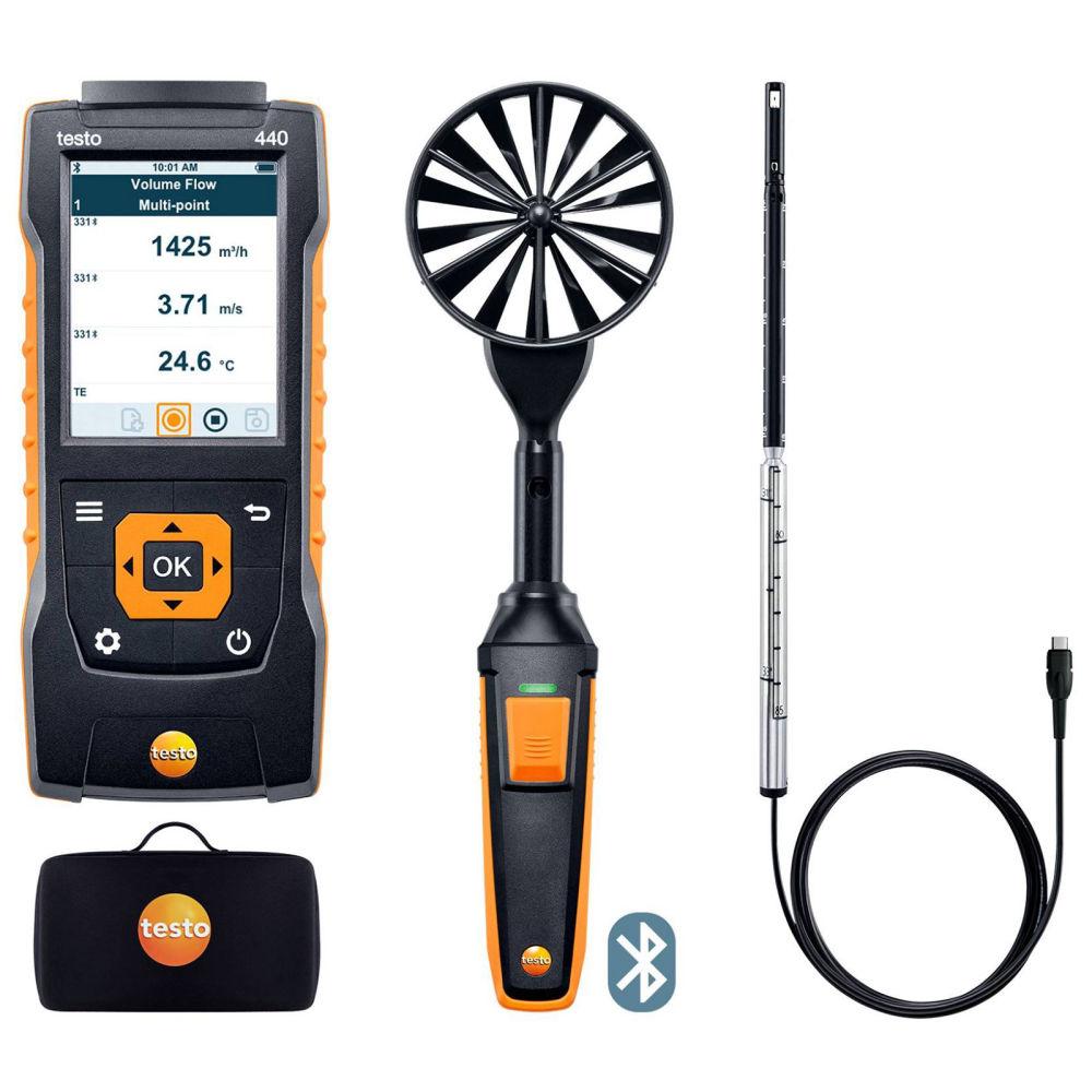 Комплект для вентиляции 1 с Bluetooth Testo 440 0563 4406
