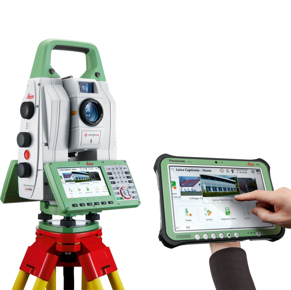 "Сканирующий тахеометр Leica MS60 1"" (2020)"