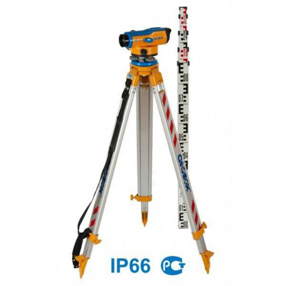 Оптический нивелир GEOBOX N8-26 TRIO 100168