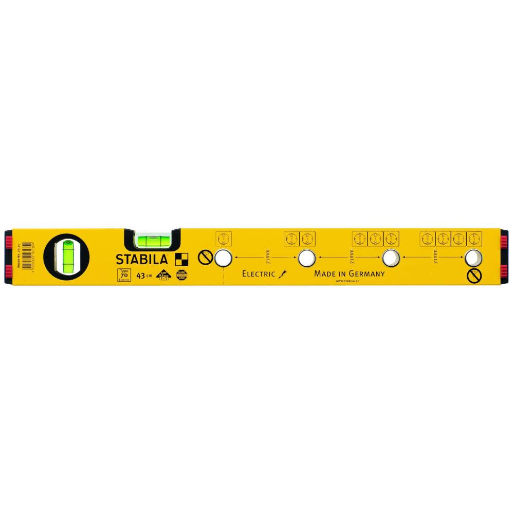Строительный уровень STABILA 70 Electric (43 см) 16135