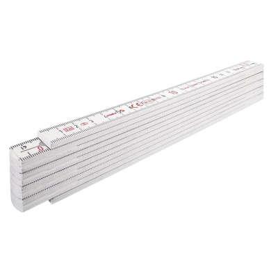 Метр складной  STABILA 1007 (пластмассовый, 2м x 16мм) 01001