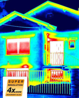 Технология SuperResolution для тепловизоров Testo 0554 7806 / S1