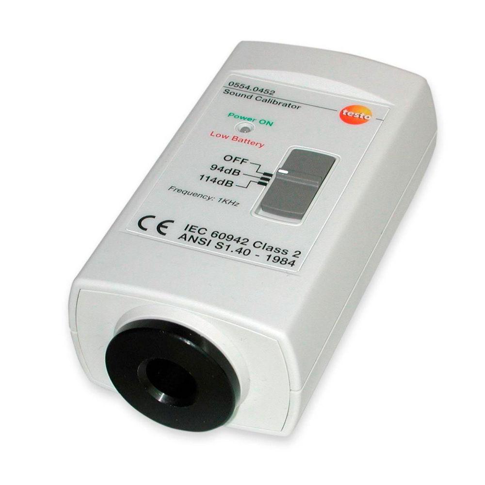Калибратор уровня шума для Testo 815/816 0554 0452