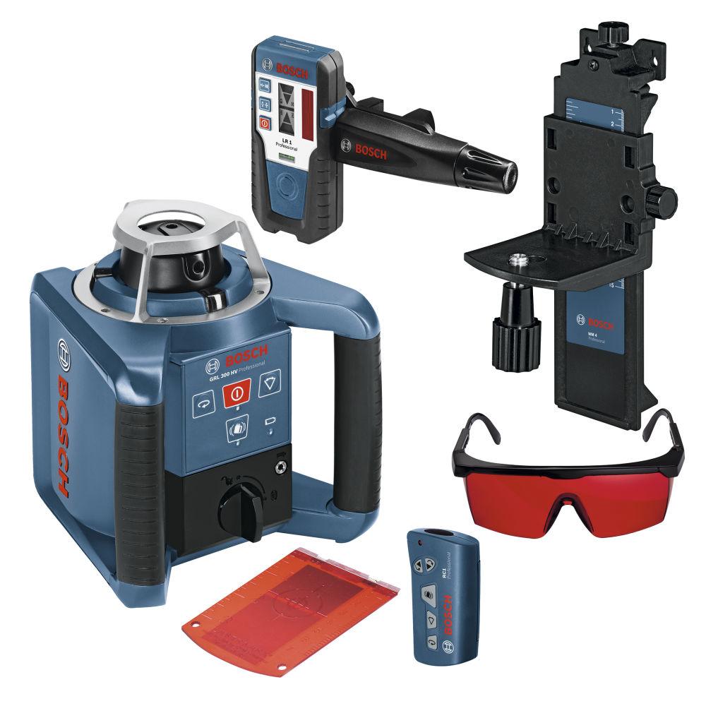 Ротационный лазерный нивелир Bosch GRL 300 HV SET 0601061501