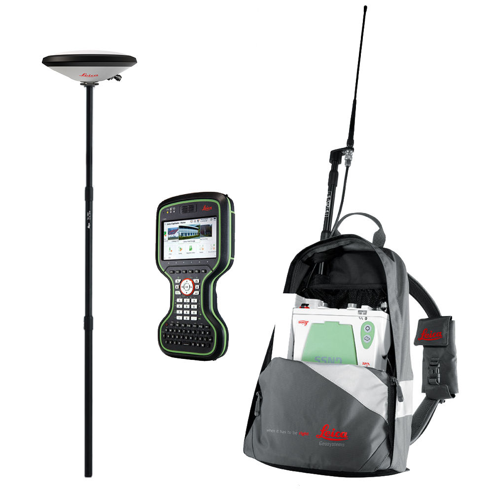 Комплект RTK ровер Leica GS10 GSM+UHF, Rover CS20 LTE 6016699