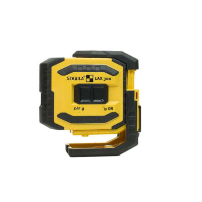 Лазерный уровень STABILA LAX300 G + уровень Pocket Electric 19033