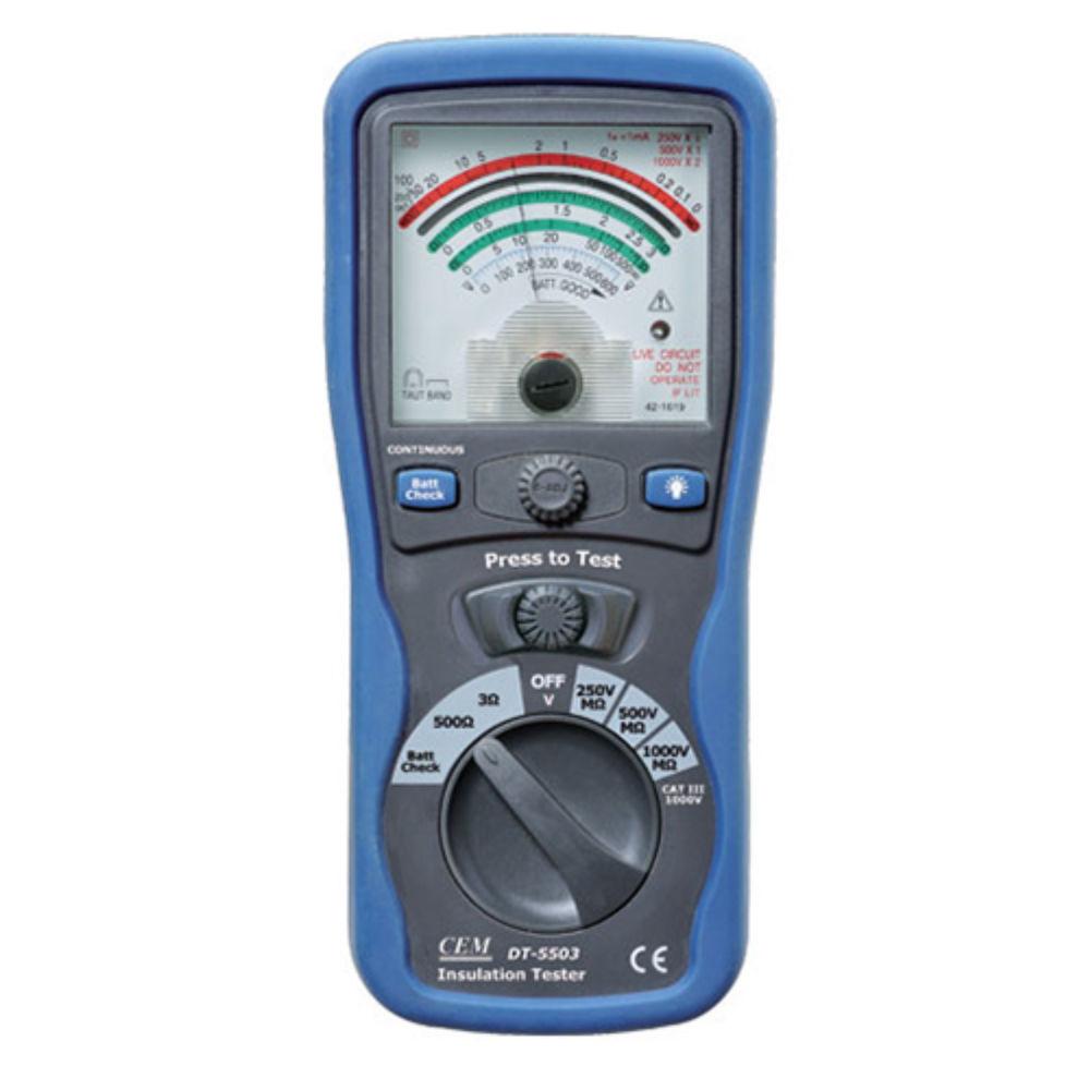 Мегаомметр CEM DT-5503 480 489