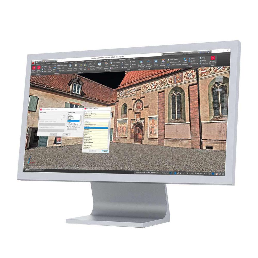 Программное обеспечение Leica CloudWorx AutoCAD Basic 806422