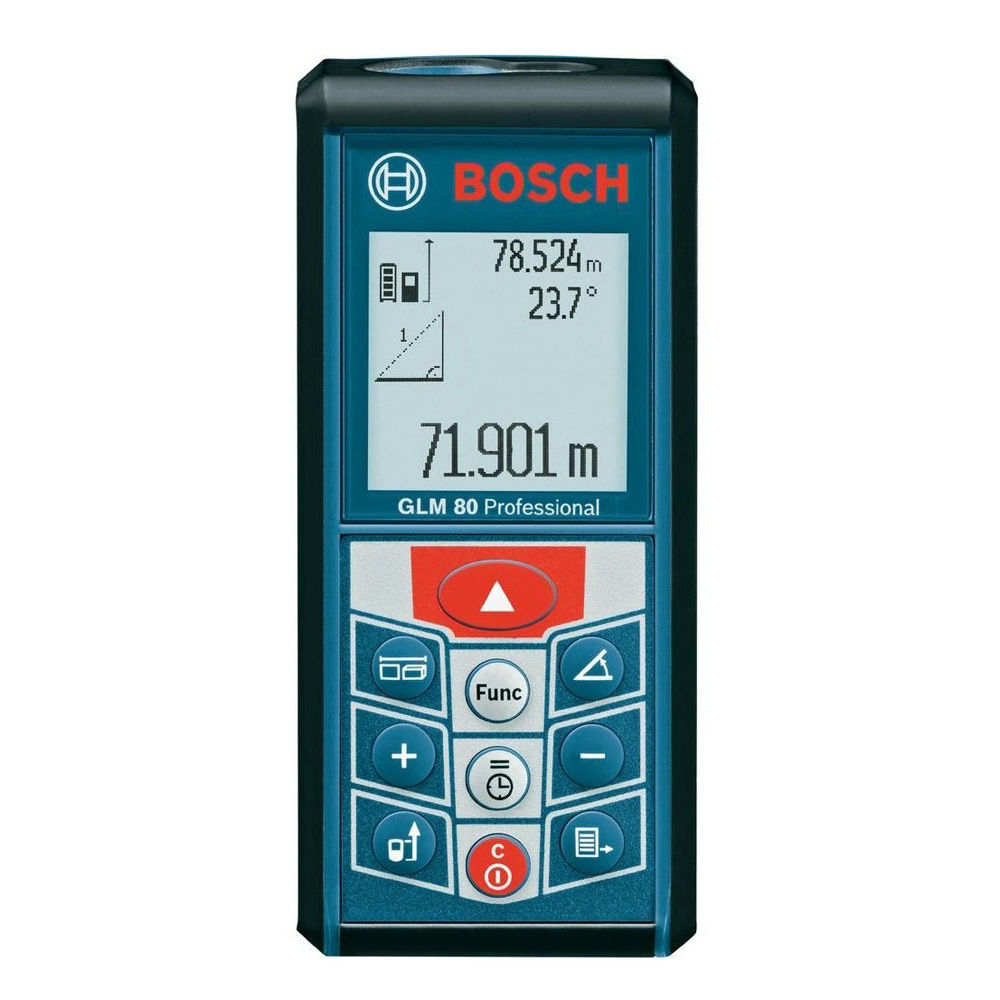 Лазерный дальномер Bosch GLM 80 Professional + BT150 06159940A1