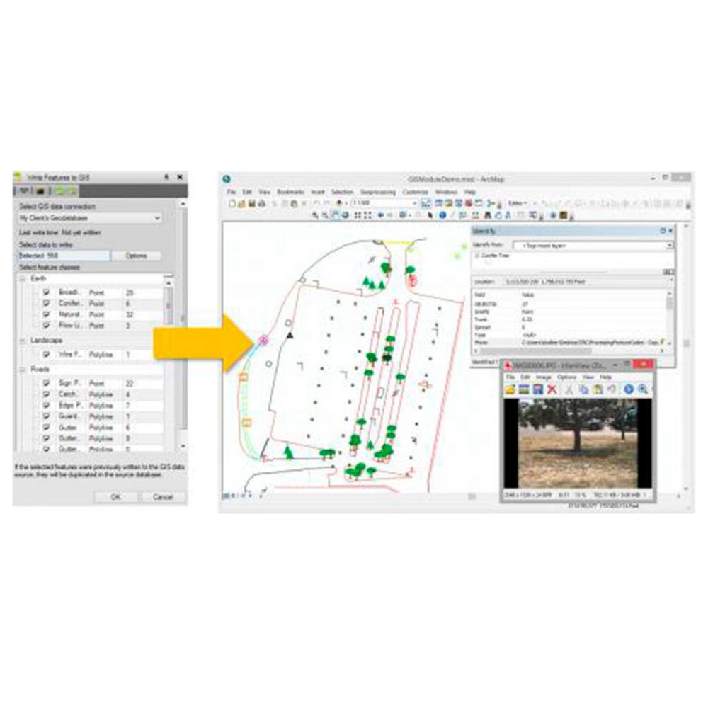 Дополнительный модуль Trimble TBC - Add GIS to Hardware Key
