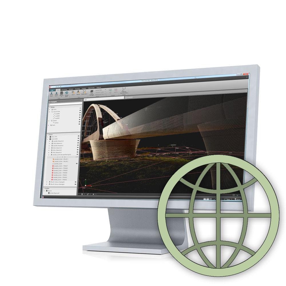 Программное обеспечение Leica Infinity GNSS + Terrestrial Bundle (сетевая) 835321