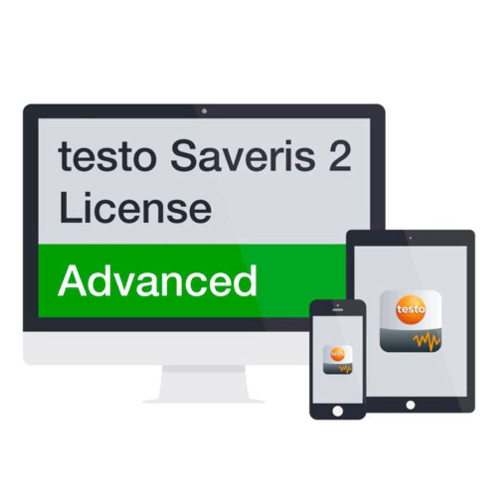 Расширенная лицензия Saveris 2 на 1 год Testo 0572 0740 0572 0740