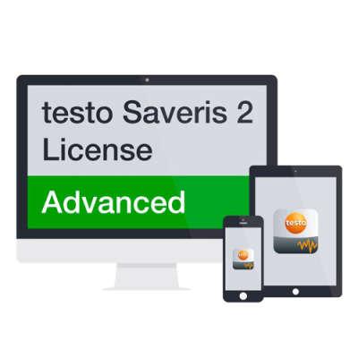 Расширенная лицензия Saveris 2 на 2 года Testo 0572 0741 0572 0741