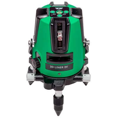 Лазерный уровень ADA 3D Liner 2V Green А00532