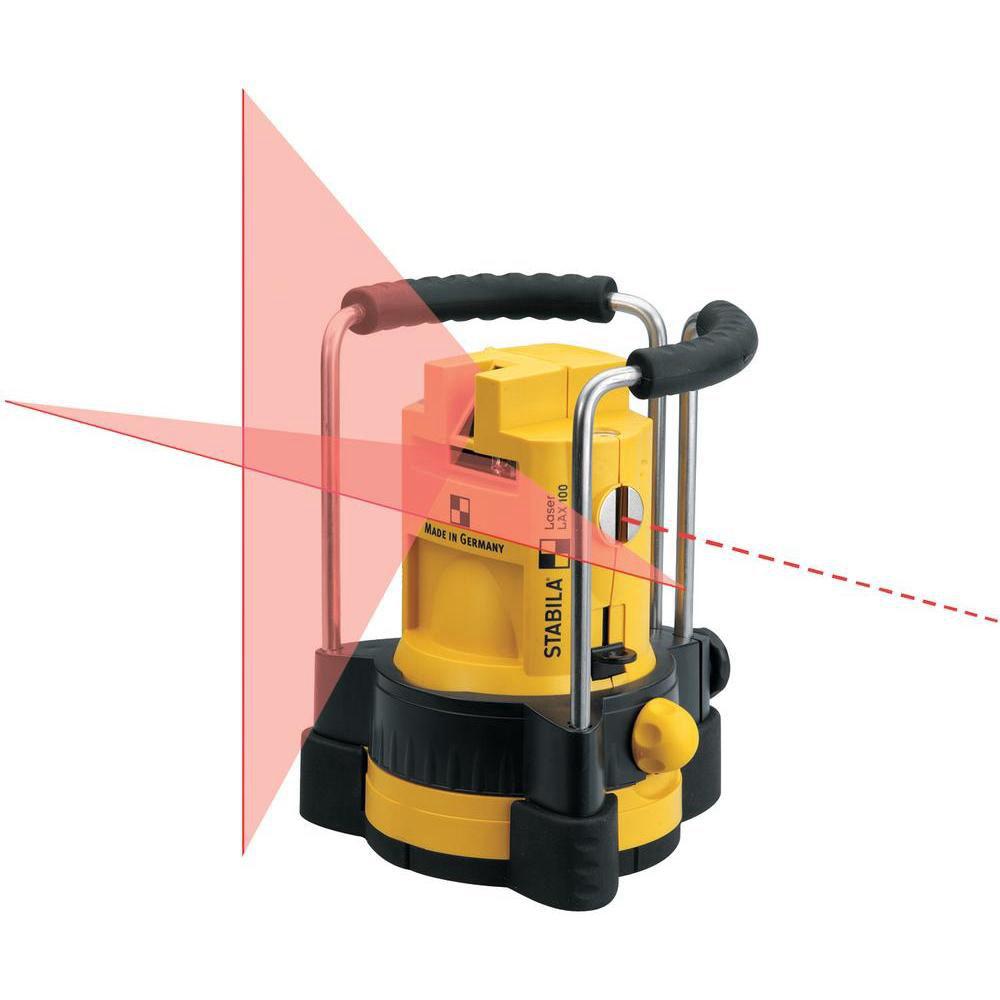 Лазерный уровень STABILA LAX100 Complete-Set 15582