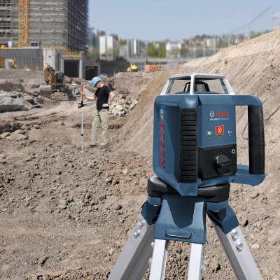 Ротационный лазерный нивелир Bosch GRL 400 H SET Professional 0601061800