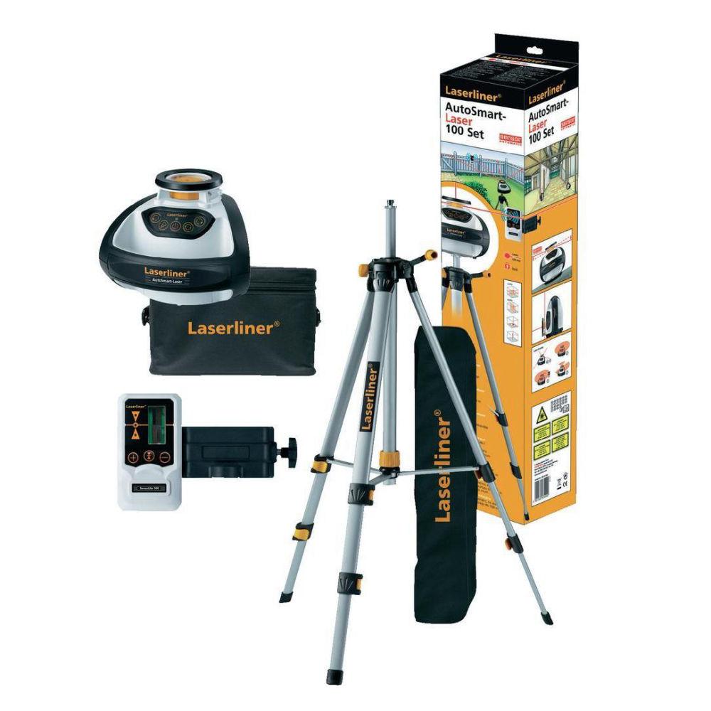 Ротационный лазерный нивелир Laserliner AutoSmart-Laser 100 Set 055.04.00A