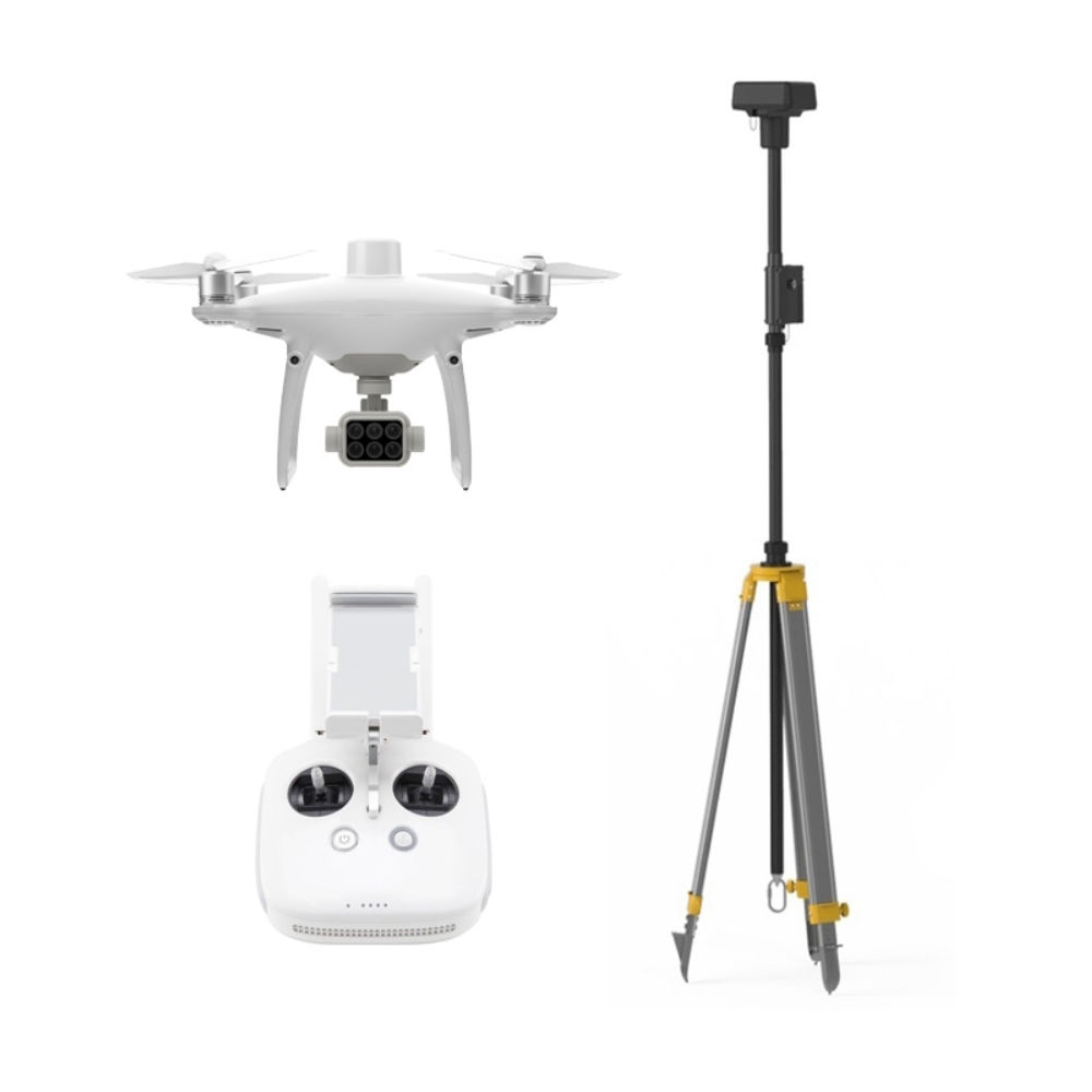 Квадрокоптер DJI Phantom 4 RTK + D-RTK 2 Mobile Station Combo 000000000478