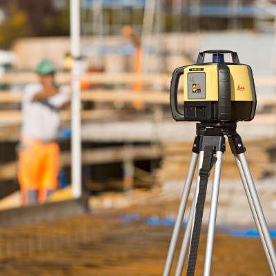 Ротационный лазерный нивелир Leica Rugby 620 RE140 (6015674)
