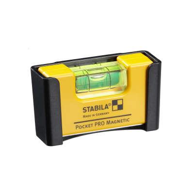 Компактный уровень STABILA Pocket PRO Magnetic 17768