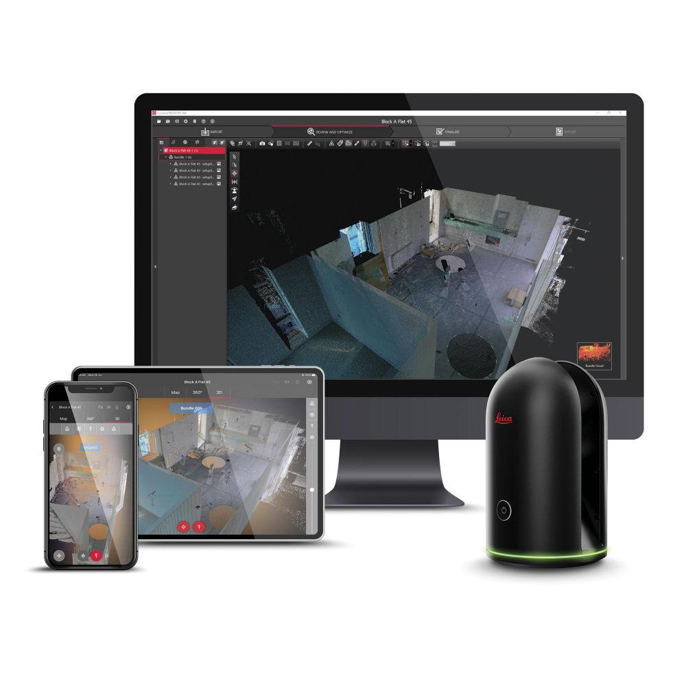 Программное обеспечение Leica Cyclone REGISTER 360 BLK 898883