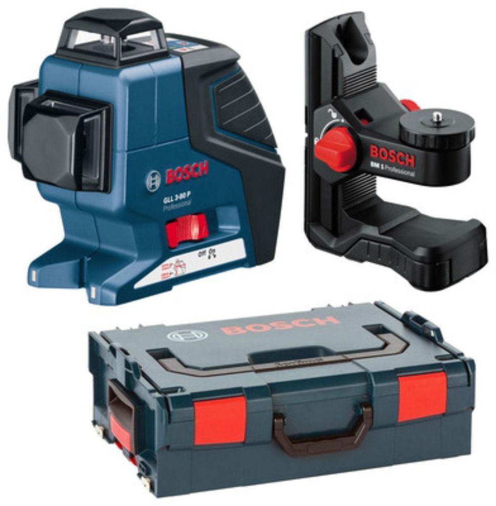 Лазерный уровень Bosch GLL 3-80 P (BM1, L-Boxx) 0601063309