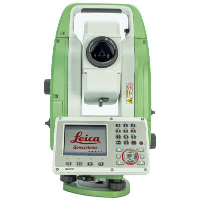 Загрузка тахеометра Leica TS07