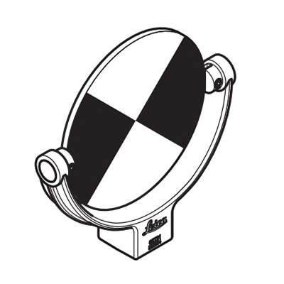 Круглая черно-белая марка 6' Leica 798948 (798948)