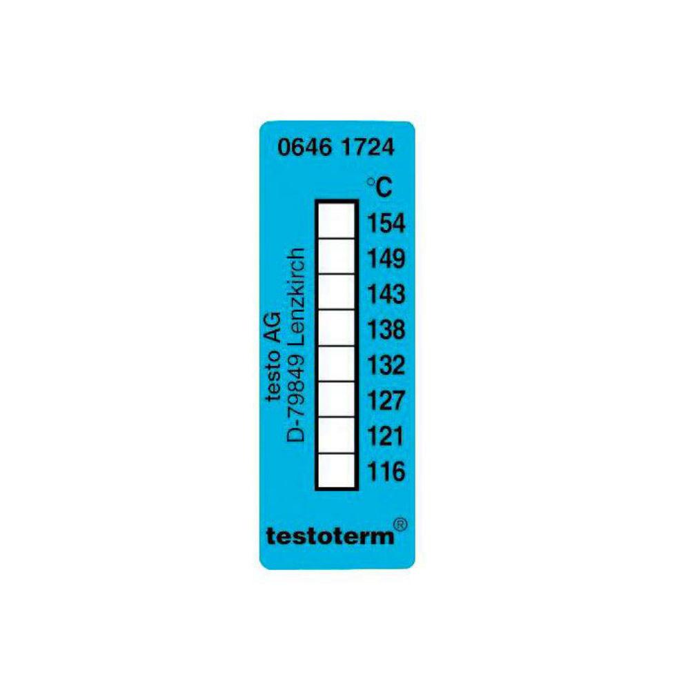 Термические полоски Testo (+116 °C to +154 °C) 0646 1724