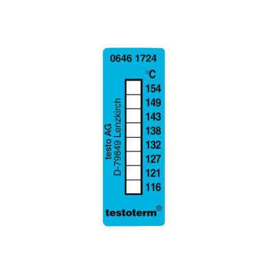 Термические полоски Testo (+116 °C to +154 °C) (0646 1724)