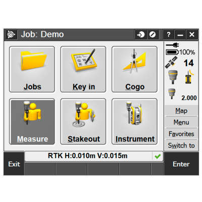 Лицензия Trimble Access - Monitoring, Perpetual License SA-MON-P