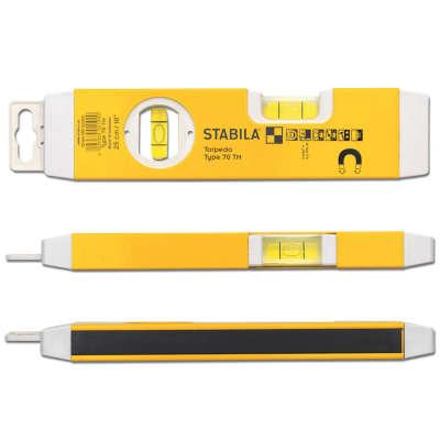 Строительный уровень Stabila 70TM (22 см) 02190