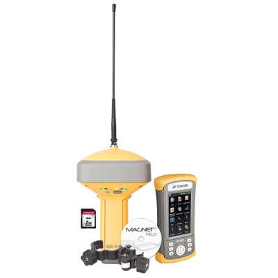 Комплект Topcon GR-5 с UHF/GSM и контроллер FC-500 с GSM