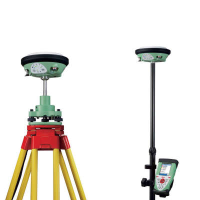 RTK комплект Leica GS14 GSM, Base, Rover CS10, 1 год Smartnet 6010994+soft