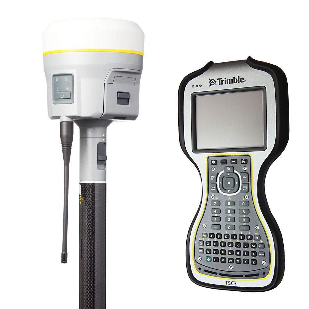 RTK-ровер Trimble R10 GSM/UHF, Rover TSC3