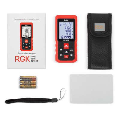 Лазерный дальномер RGK DL100B 4610011873928