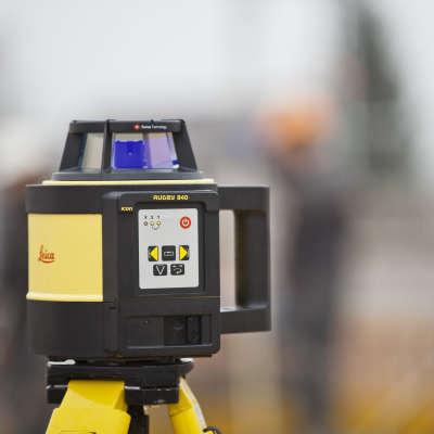 Ротационный нивелир Leica Rugby 840 RE180 6006024