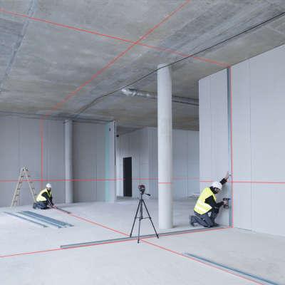 Лазерный уровень Bosch GLL 3-80 (AA) + кейс 0601063S00