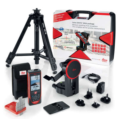 Лазерный дальномер Leica DISTO S910 Package 806677