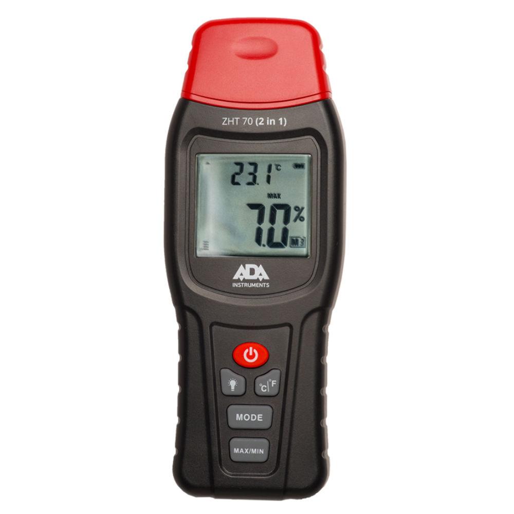 Измеритель влажности и температуры контактный ADA ZHT 70 (2 in 1)  А00518