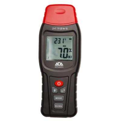 Измеритель влажности и температуры контактный ADA ZHT 70 (2 in 1)  (А00518)