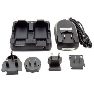 Зарядное устройство на 2 слота Trimble С3/С5, M3DR, XS/XF, Nivo, Focus, Nomad (HQJ27000-TNL)