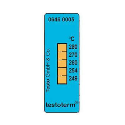 Термические полоски Testo (+249 °C to +280 °C) 0646 0005