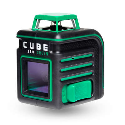 Лазерный уровень ADA Cube 360 Green Professional Edition А00535