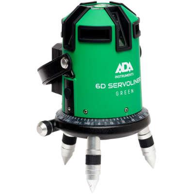 Лазерный уровень ADA 6D Servoliner Green А00500