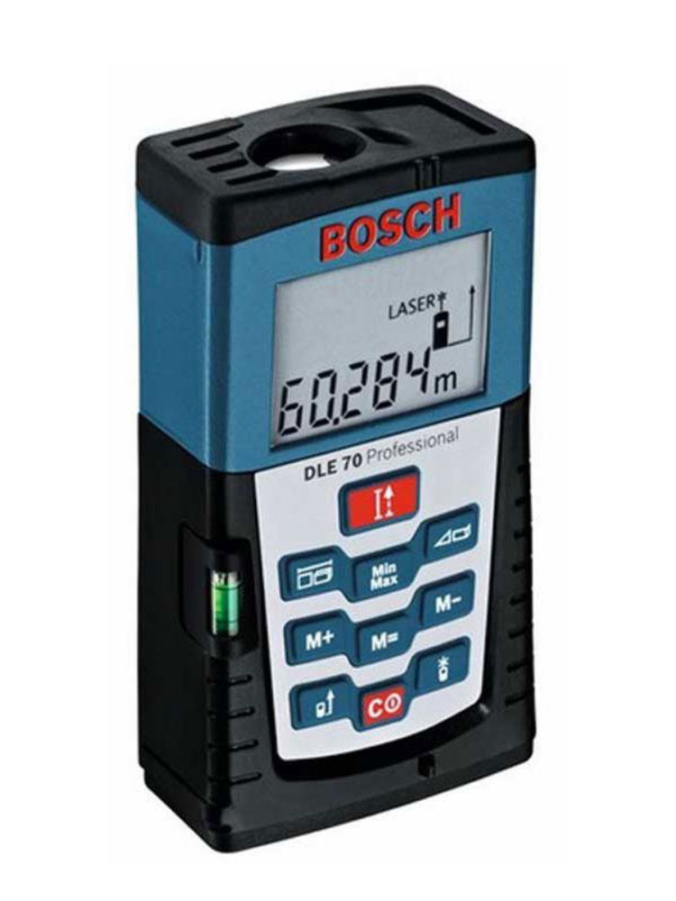 Лазерный дальномер Bosch DLE 70 + BS 150 0.601.016.620