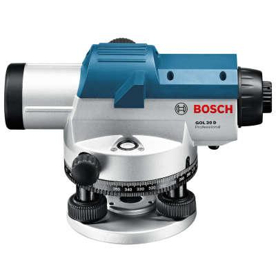 Оптический нивелир Bosch GOL 20D + штатив BT160 + рейка GR500 0601068402